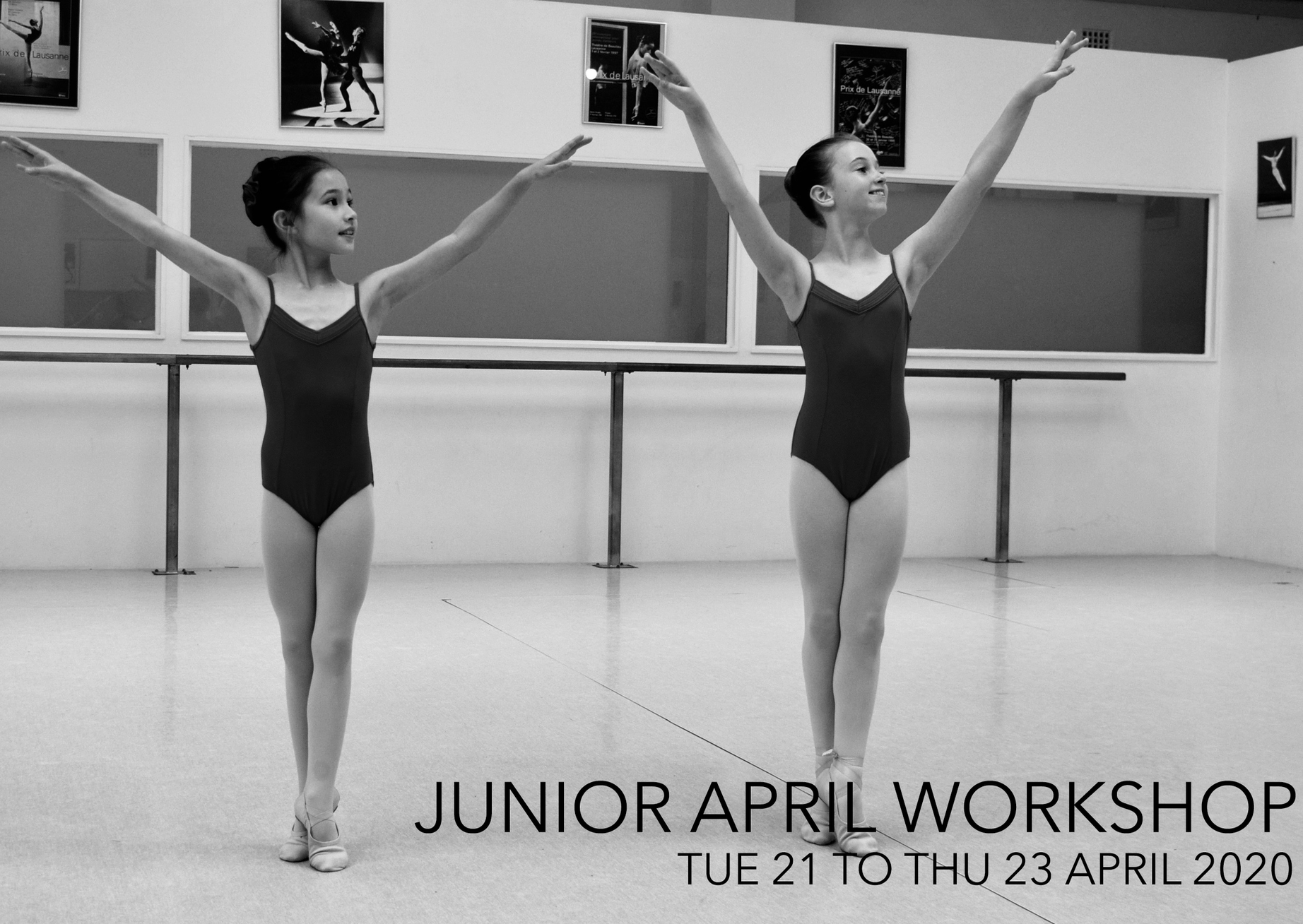 APRIL JUNIOR WORKSHOPS 2020