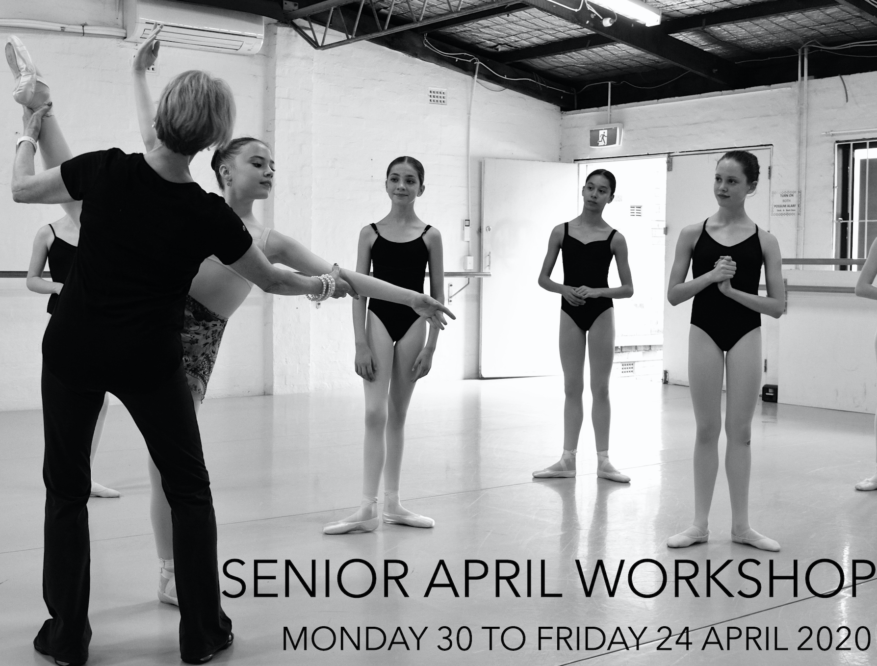 APRIL SENIOR WORKSHOPS 2020