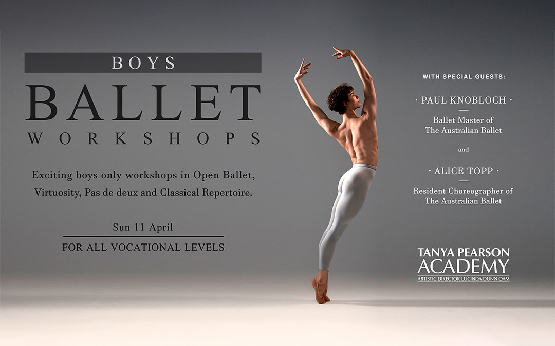 BOYS BALLET WORKSHOPS